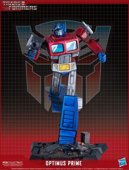 Transformers Estatua Classic Scale Optimus Prime 27 cm