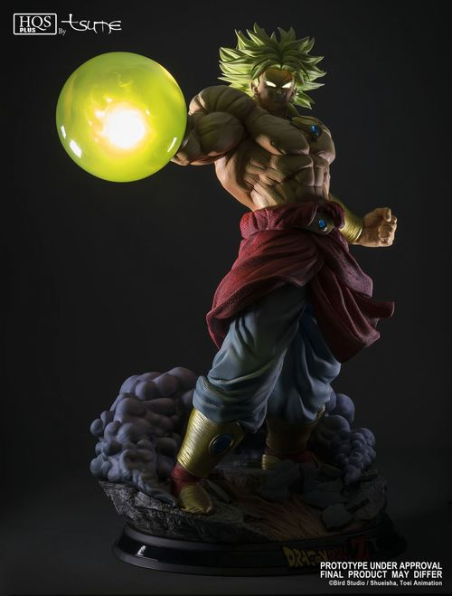"Broly – Legendary Super Saiyan ""King of Destruction"" ver. HQS+ by TSUME *** AGOTADO***"