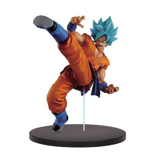 FIGURINE DRAGON BALL Z - SUPER SAIYAN SON GOKU BLUE 19 CM