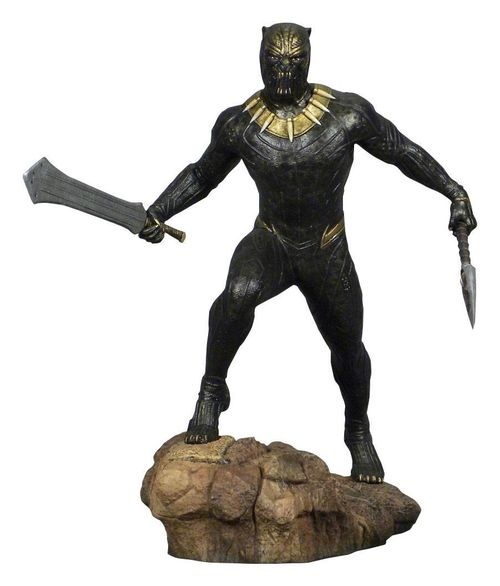 Black Panther Movie Marvel Gallery Estatua Killmonger 23 cm