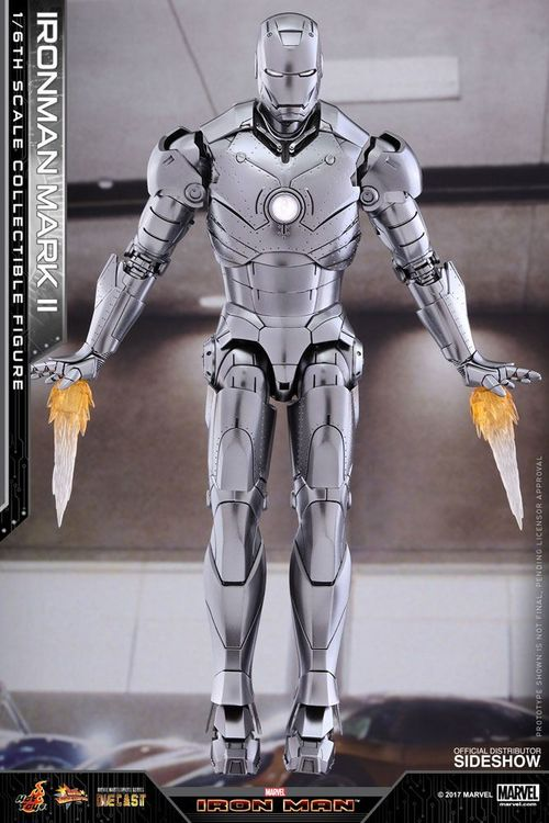 Iron Man 2 Figura Diecast Movie Masterpiece 1/6 Iron Man Mark II 31 cm MMS431D20
