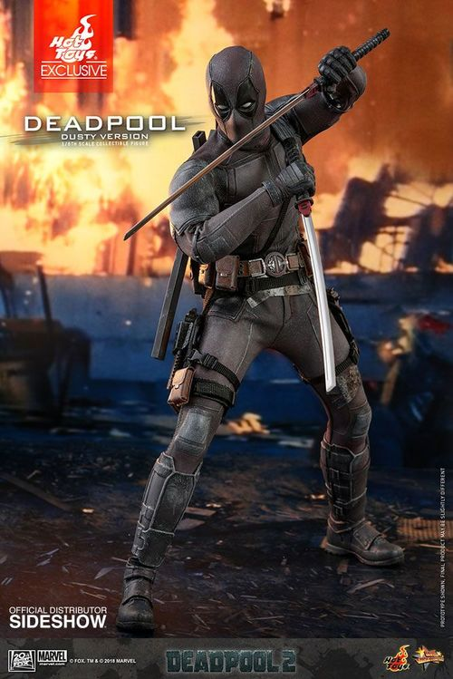 Deadpool 2 Figura Movie Masterpiece 1/6 Deadpool Dusty Ver. Hot Toys Exclusive 31 cm