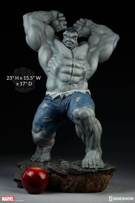 Avengers Assemble Estatua 1/5 Grey Hulk Sideshow Exclusive 61 cm