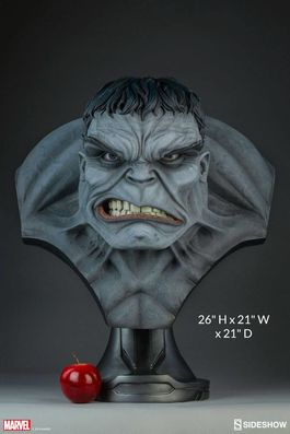 Marvel Comics Busto 1/1 Gray Hulk Sideshow Exclusive 66 cm