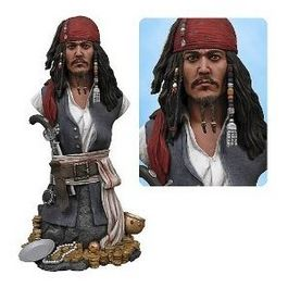 CAPTAIN JACK SPARROW BUST