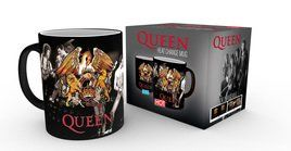 QUEEN Crest heat change mug