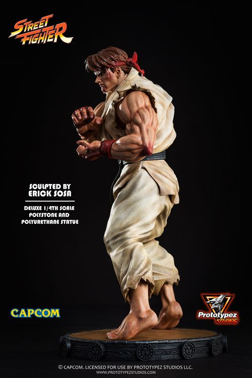 Street Fighter 1/4 Scale Classic Ryu