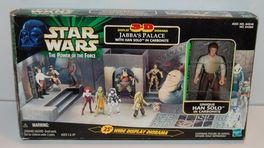 JABBAS PALCE WITH HAN SOLO IN CARBONITE