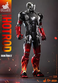 Iron Man 3 Hot Rod Mark XXII 22 MMS272-D08