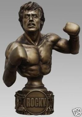 ROCKY FAUX BRONZE 1:3 SCALE BUST HOLLYWOOD COLLECTIBLES