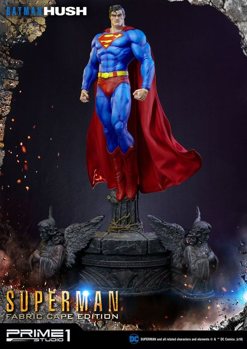Batman Hush Estatua 1/3 Superman Fabric Cape Edition 106 cm