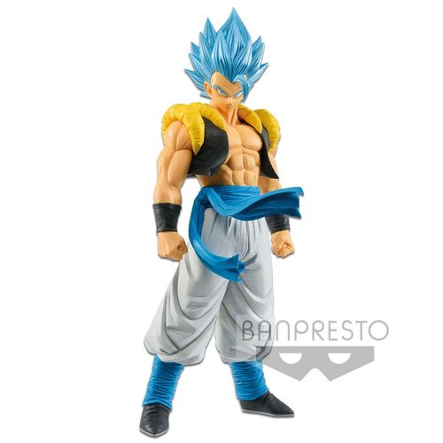 Dragonball Super Broly Grandista Resolution of Soldiers PVC Statue SSGSS Blue Gogeta 27 cm