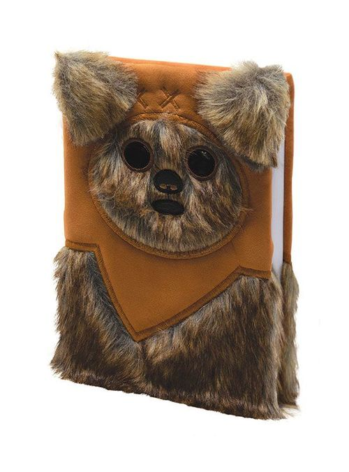 Star Wars Premium Notebook A5 Ewok (Fluffy)