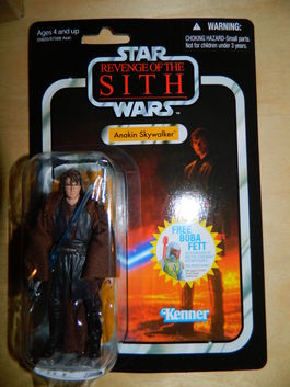 ANAKIN SKYWALKER VINTAGE COLLECTION 13 FIGURA