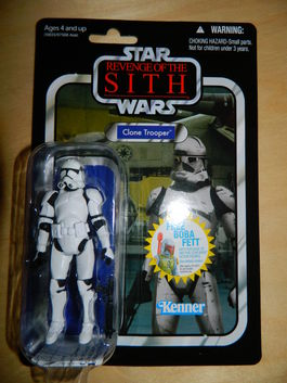 CLONE TROOPER VINTAGE COLLECTION 15 FIGURA