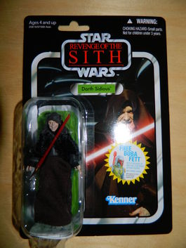 DARTH SIDIOUS VINTAGE COLLECTION 12 FIGURE