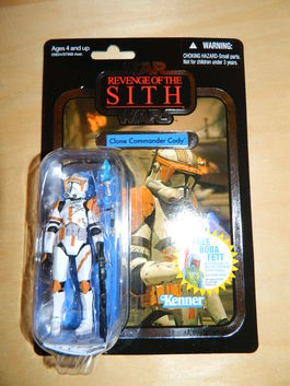 CLONE COMMANDER CODY VINTAGE COLLECTION 19 FIGURA (MARCO PLATEADO)