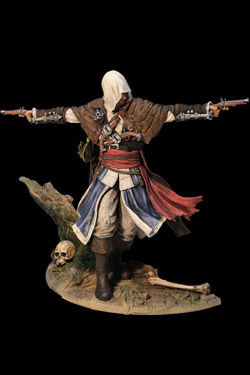 Assassin's Creed IV Black Flag Estatua PVC Edward Kenway The Assassin Pirate 24 cm